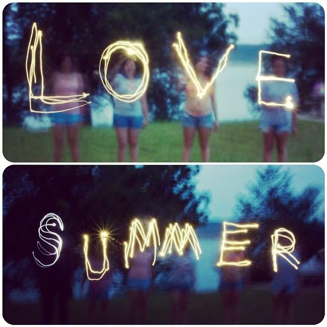 Slow shutter summer